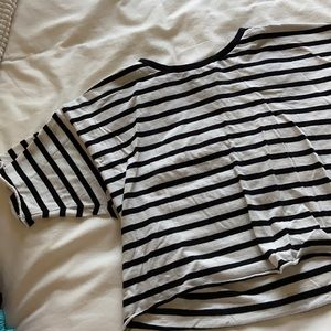 Relaxed Forever 21 Crop Tee